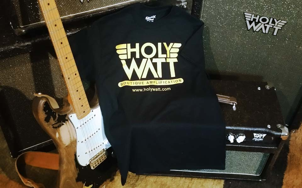 The Holy Watt Logo T